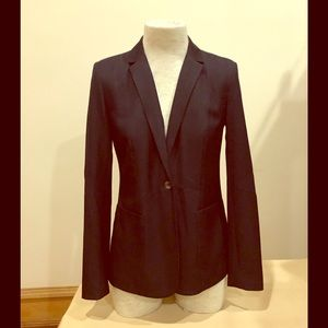 Tahari 'Wendi' navy jacket, size 2.